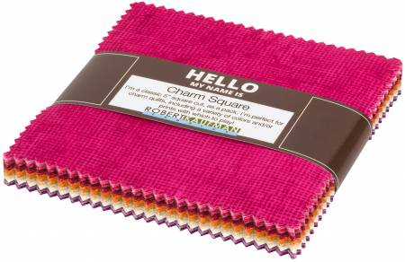 Chalk & Charcoal Warm Colorstory 5 square pack