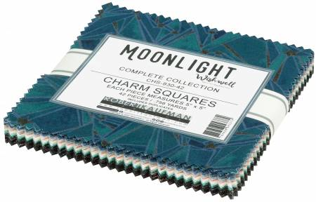 5in Squares Moonlight, 42pcs/bundle