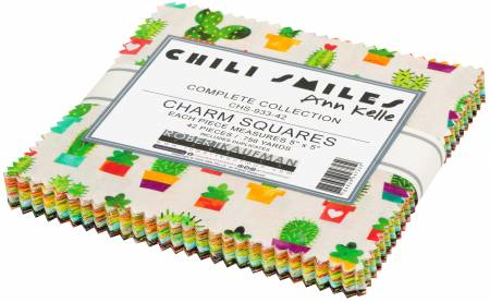 Chili Smiles Charm Squares (42pcs) (Ann Kelle)