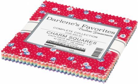Darlene's Favorites 5x5 Pack, 42pcs/bundle