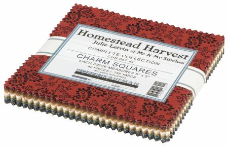 5in Squares, Homestead Harvest, 42pcs/bundle