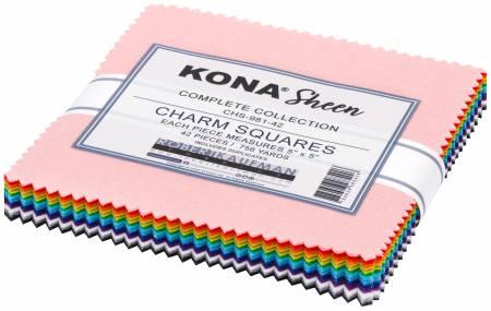 Kona Sheen, 42pcs/bundle - 5in Squares