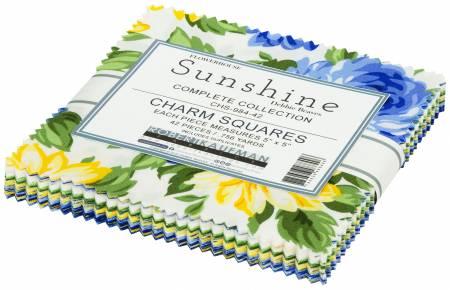 Sunshine 5in Squares , 42pcs