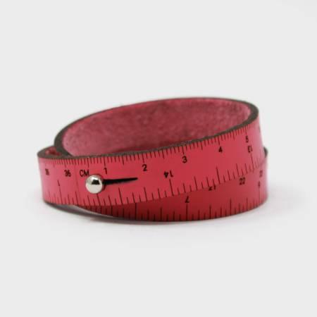 15in Wrist Ruler - Hot Pink
