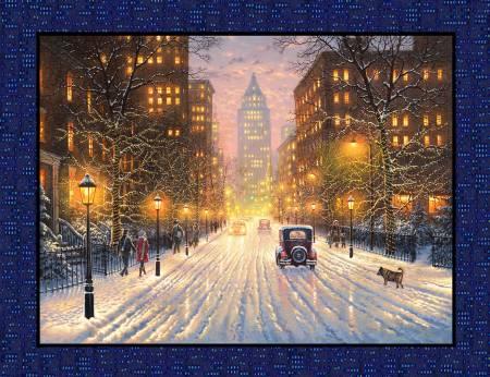 City Lights Cityscape Panel