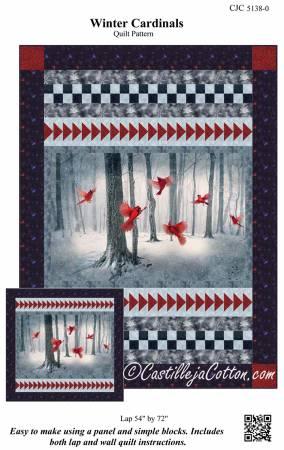 Winter Cardinals Pattern CJC 5138-0