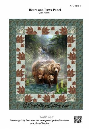Bears and Paws Pattern