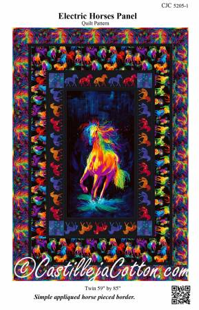 Electric Horses Panel Pattern