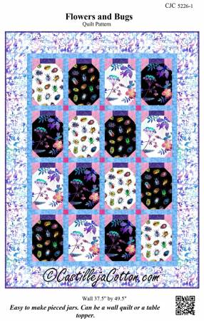 Flowers and Bugs Pattern