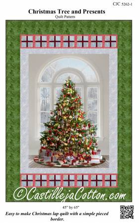Christmas Tree and Presents Pattern