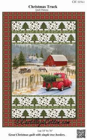 Christmas Truck Pattern