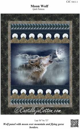 Moon Wolf Quilt Pattern