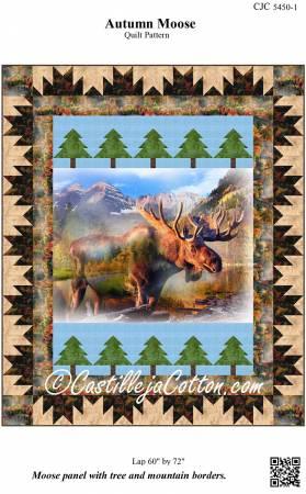 Autumn Moose Pattern