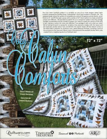 Cozy Cabin Comforts kit 72x72
