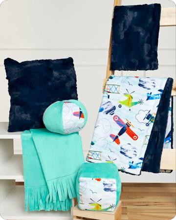 Cuddle Kit Sky Ride Beginner Box, Learn to Sew w/Cuddle