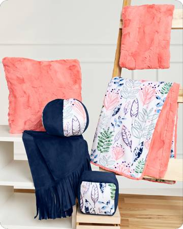 Cuddle Kit Spring Leaves Beginner Box, Learn to Sew w/Cuddle