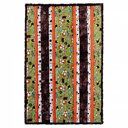 Cuddle Kit Fabulous 5 Woodland 38in x 58in