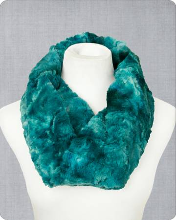 Infinity Scarf Kit Galaxy Mallard 19in x 36in by Shannon Fabrics