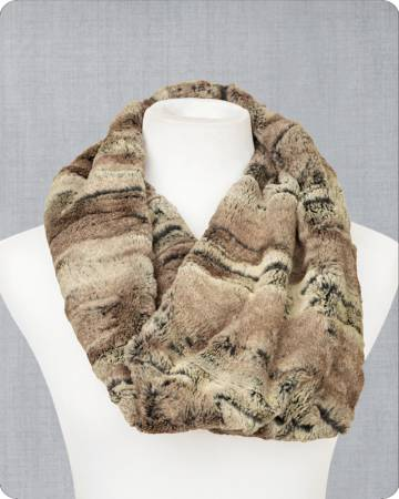 Infinity Scarf Kit Mountain Fox 19in x 36in