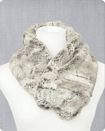 Infinity Scarf Kit Silver Fox 19in x 36in by Shannon Fabrics