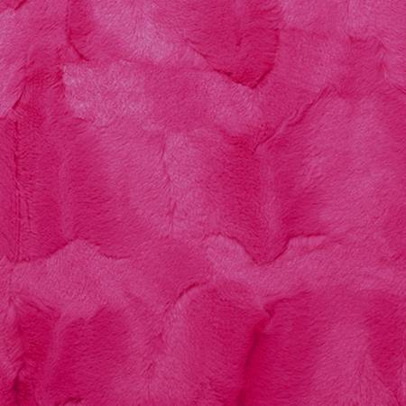 2yd Luxe Cuddle Hide Cut Carnation