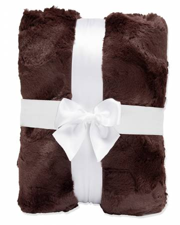2yd Luxe Cuddle Hide Cut Chocolate