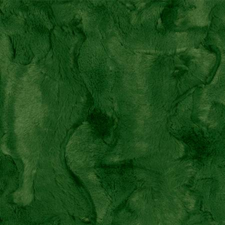 Shannon - Hide Evergreen 2yd Luxe Cuddle Cut