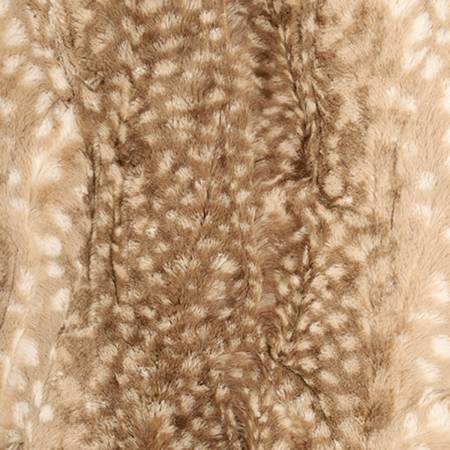 Luxe Cuddle Fawn : Cappuccino - 2yd x 58/60 - Cuddle Cuts
