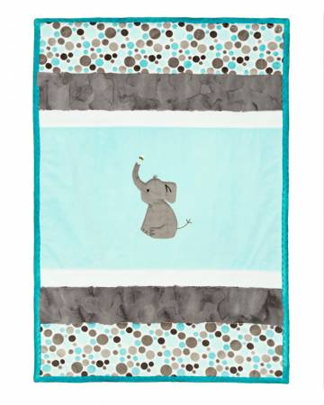 Cuddle Kit Lullaby Enchanting Ele 28in x 41in