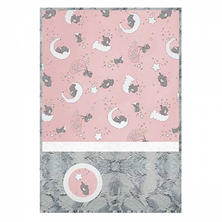 Cuddle Kit Lucky Stars Blush 28in x 41in