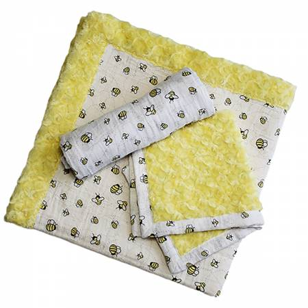 Shannon Fabric Cuddle Kit Patty Cakes - Honeybun