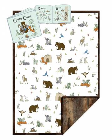 Cuddle Kit Read to Me - Forest - 28in x 40in
