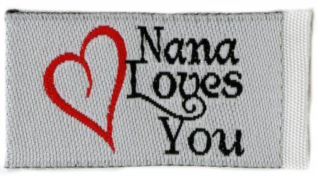 Nana Loves You Tag It Ons