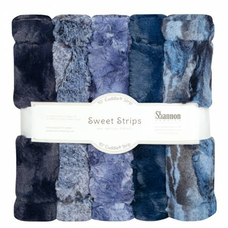 Luxe Cuddle Strips - 5 Pack - Chambray