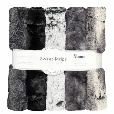 5 Pack of 10in Luxe Cuddle Strips Night