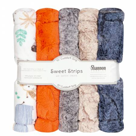 Luxe Cuddle Strips Jungle 5 Pack of 10in