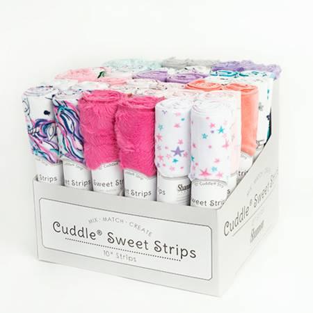 10in x 60in Cuddle Strips, Funfetti