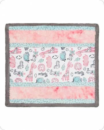 Lion Around Pink Wee Ones Cuddle Kit - 27 x 27