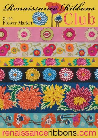 Woven Ribbon Designer Assortment Flower Market