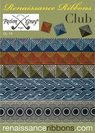 Renaissance Ribbons Designer Assortment Parson Gray #CL-14