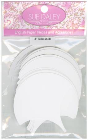 3in Clamshell Papers (50 pieces per bag)