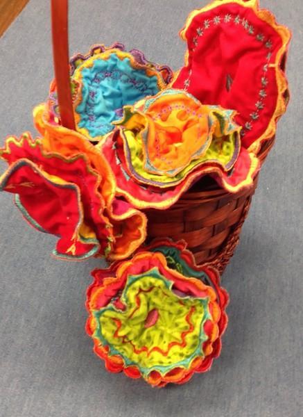 Cut Loose Flamenco Flowers Pattern