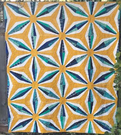 Star Lattice Quilt Pattern CLPCCA003