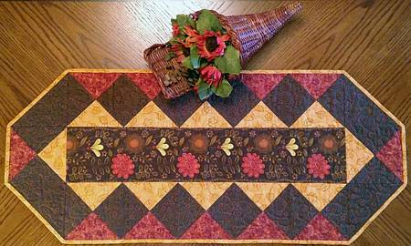 Fabulous Strip Table Runner Pattern