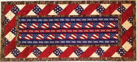 American Honor Table Runner