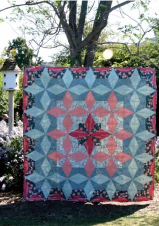 The Lattice Star Quilt Pattern