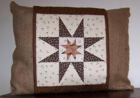 Strippy Stars Pillow Wrap
