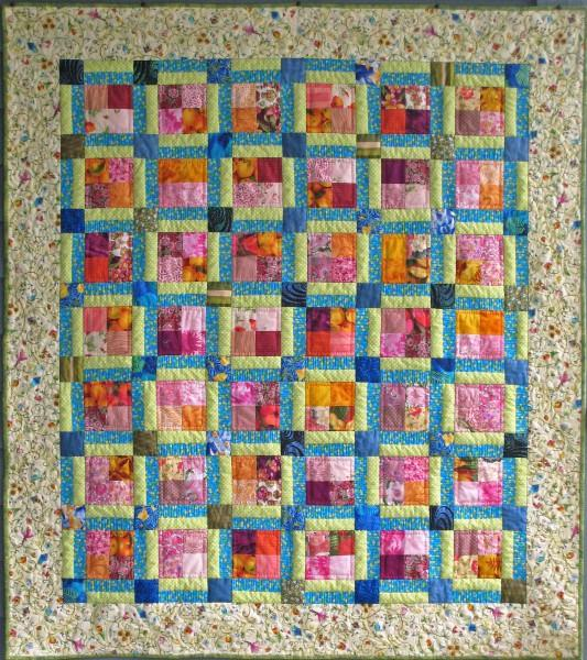 CUT LOOSE PRESS  LITTLE CHARMER QUILT