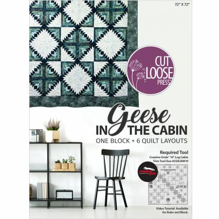Geese In The Cabin Cut Loose Press Plus