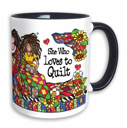 Loves to Quilt 11oz Mug